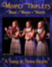 Moipei Triplets Concert page poster 2020