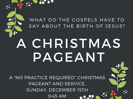 Wreaths, Pageant, Caroling... and some parties ahead!
