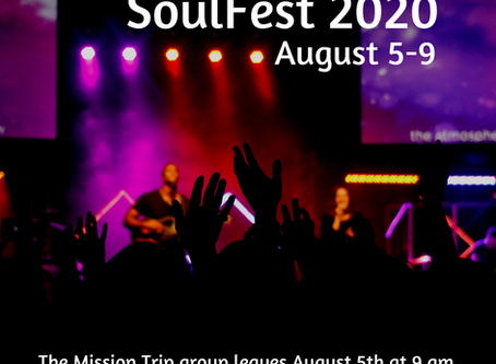 Last Day to Signup for SoulFest!