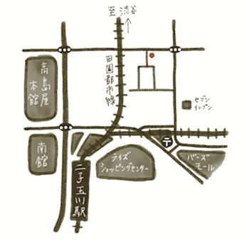 わぼくはり灸マッサージ地図map