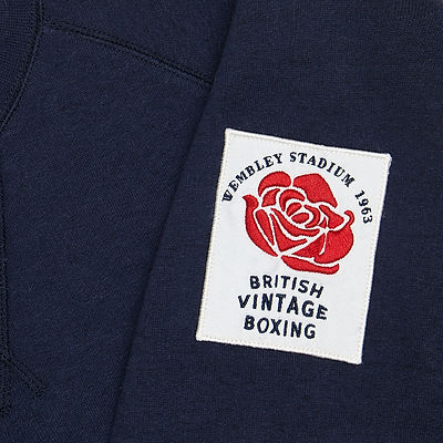 Boxing inspired sweatshirt design