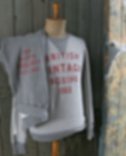 Authentic classic sweatshirt from British Vintage Boxing