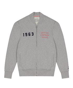 QUEENSBERRY 1963 BOMBER JACKET – GREY MARL