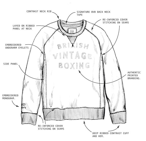 Authentic boxing sportswear