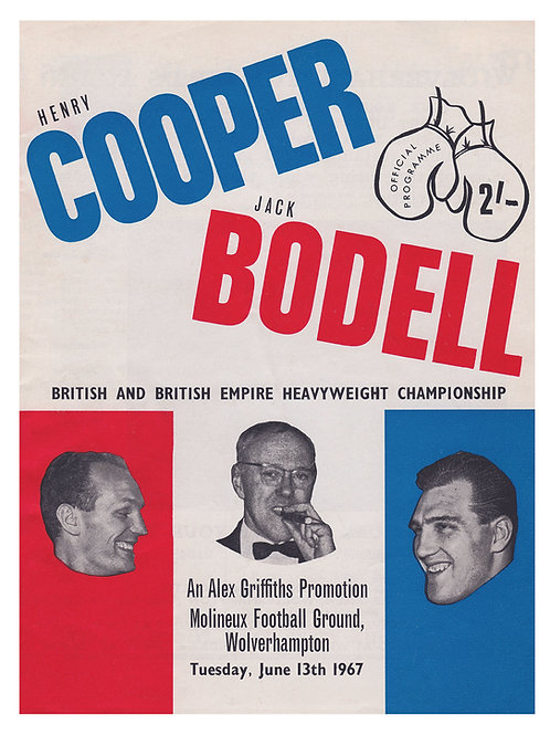 POSTER - HENRY COOPER vs. JACK BODELL