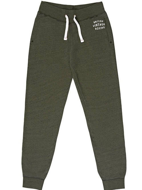 BOMBARDIER JOGGING BOTTOMS - KHAKI MARL