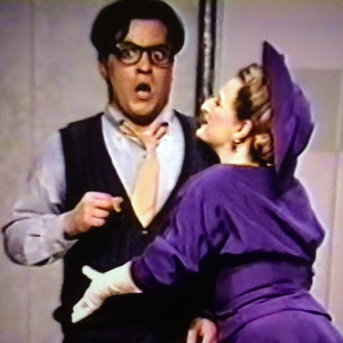 "Osmani as ""Max"" in Lend Me A Tenor"