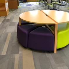 Modular Collaborative Table & Seating