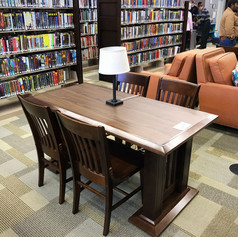 Main Library Reading Table