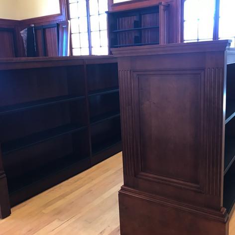 Custom Wood End Panels