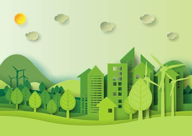 בנייה ירוקה אילוסטרציה