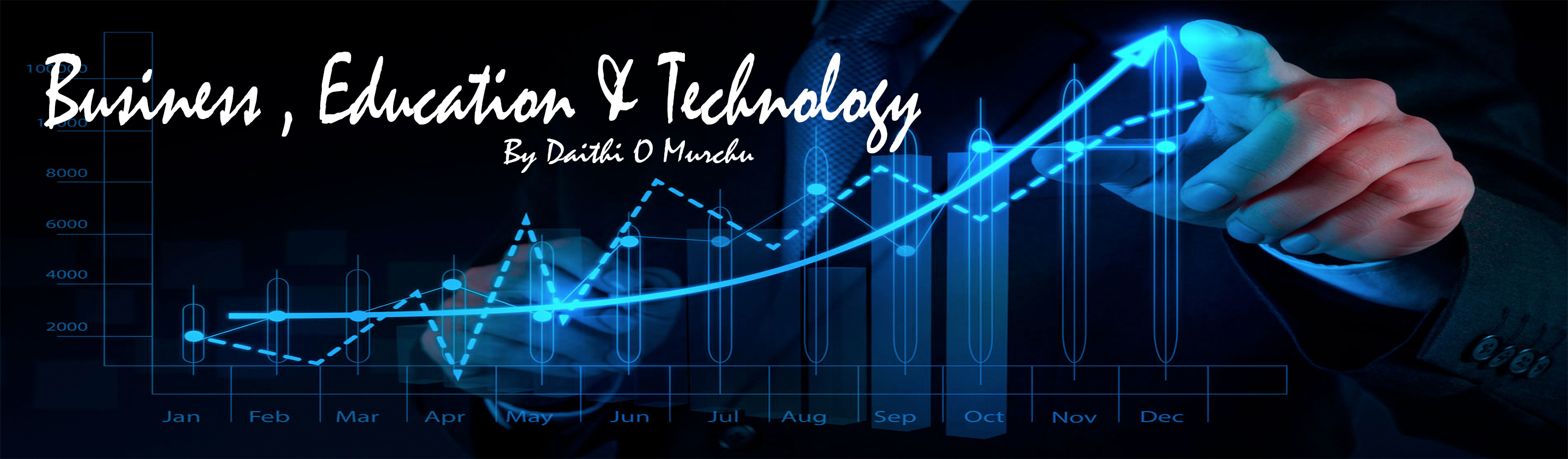 Business, Technology & Education Banner