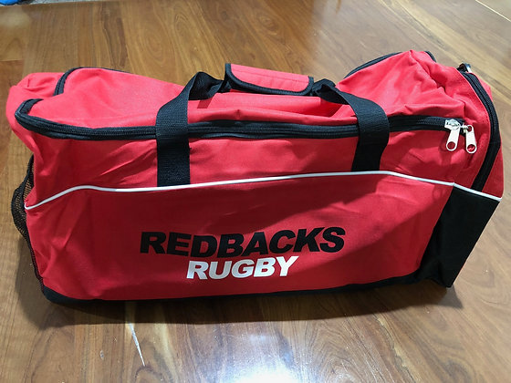 Redbacks Rugby Sports Bag (embroidery included)