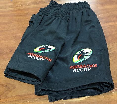 Redbacks Rugby Footy Shorts