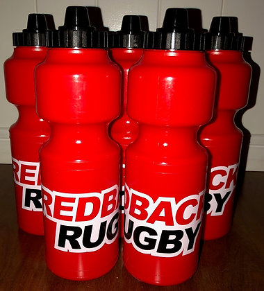 Redbacks Rugby water bottle