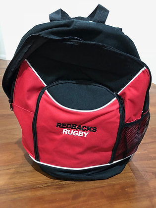 Redbacks Rugby Backpack (embroidery included)