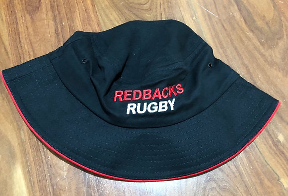Redbacks RugbyBucket Hat - Black