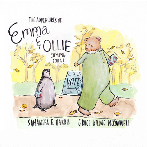 emma and ollie coming soon announcement.