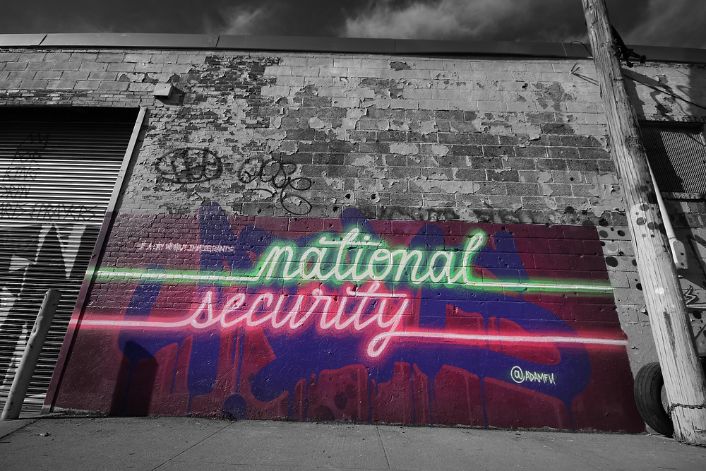 """National Security"" by Adam K. Fujita; photo by Joanna Pan"