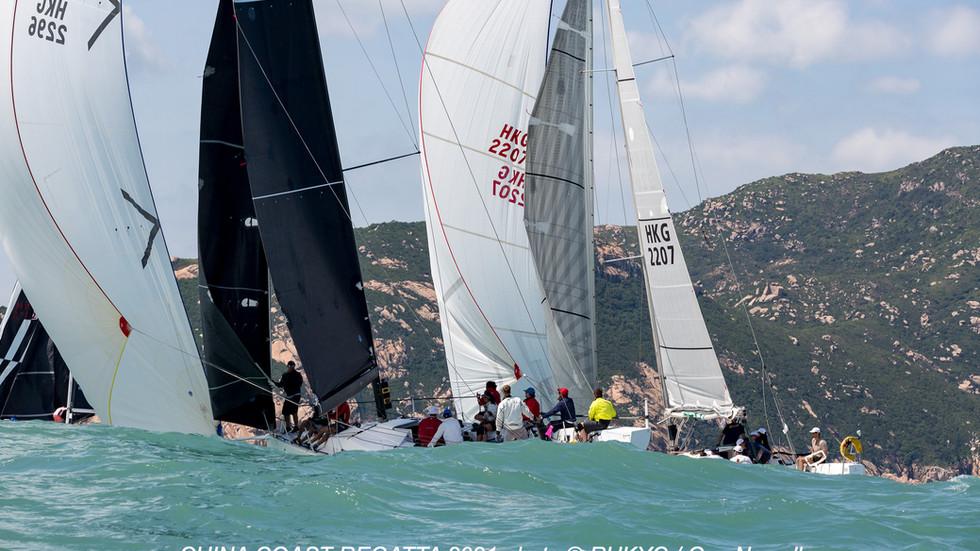 中國海岸帆船賽2021 圓滿結束