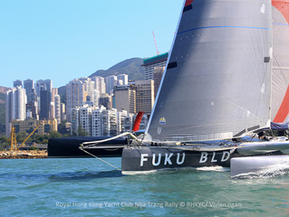 Royal Hong Kong Yacht Club Nha Trang Rally- SHK Scallywag/ FUKU takes Line Honours!