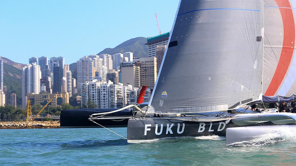 Royal Hong Kong Yacht Club Nha Trang Rally- SHK Scallywag/ FUKU takes Line Honours!