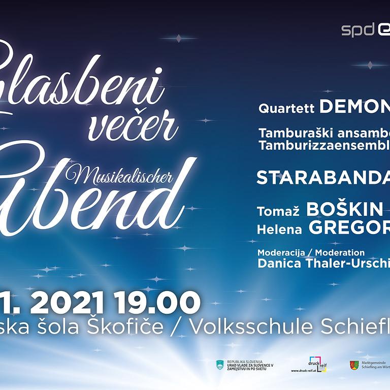 Glasbeni večer / Musikalischer Abend