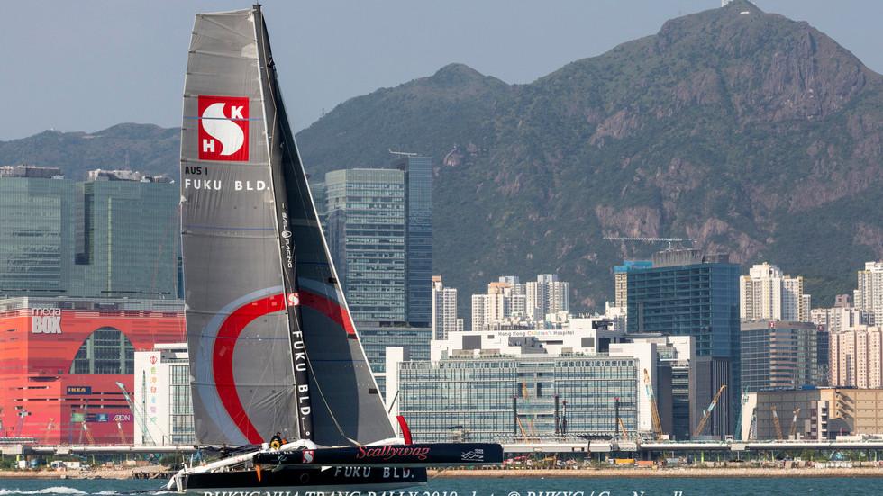香港遊艇會芽莊拉力賽-SHK Scallywag/ FUKU 號勇奪多體船衝線榮譽