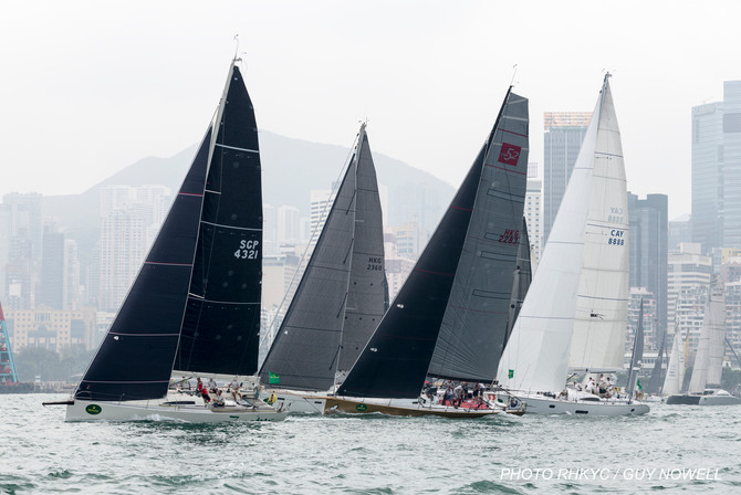 Rolex China Sea Race 2020-  International Entries from Afar