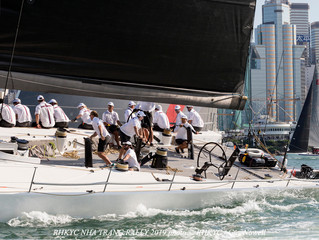 RHKYC Nha Trang Rally- Whilst Lucky takes Monohull Line Honours can FreeFire hang on to IRC Overall?