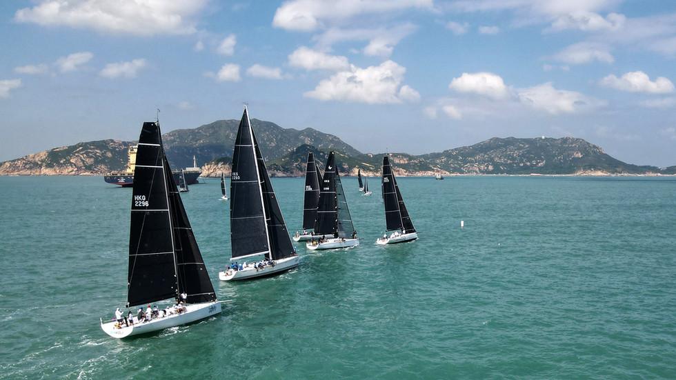 China Coast Regatta 2021.  Day 2 Race Report