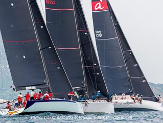 中國海岸帆船賽2019-賽事圓滿結束