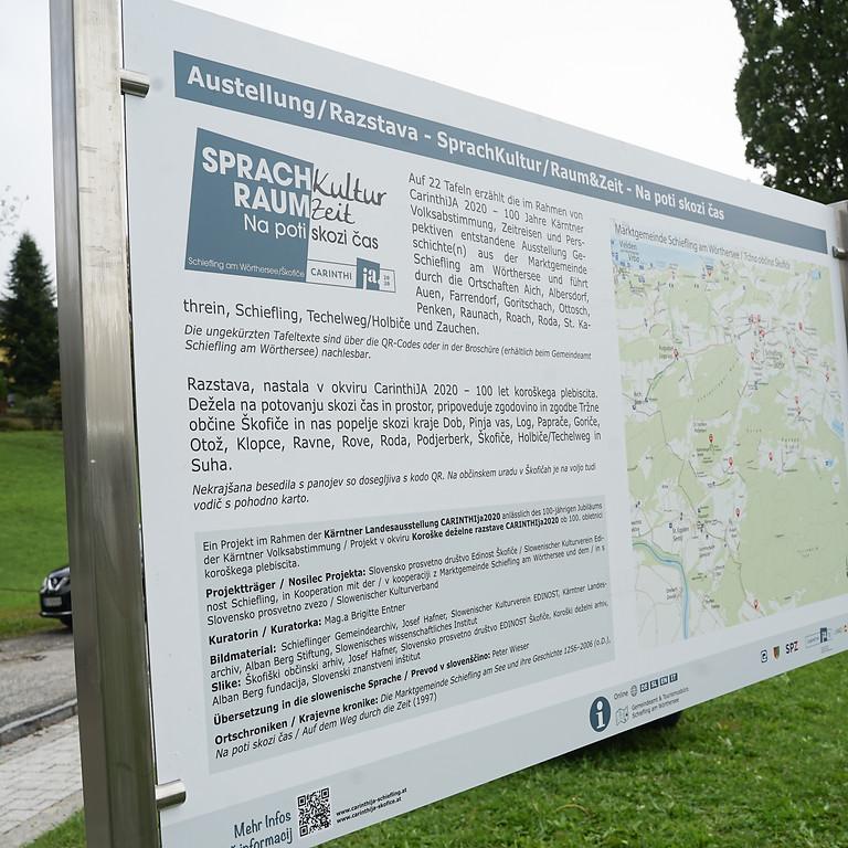 Društveni pohod po razstavi / Vereinswanderung