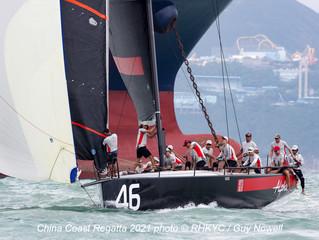 中國海岸帆船賽2021首日賽事報告