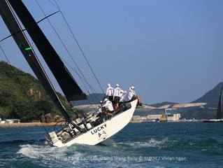 香港遊艇會芽莊拉力賽- Lucky號勇奪單體船衝線榮譽