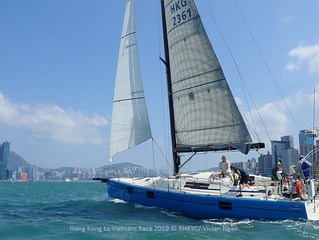 香港至越南帆船賽 - IRC 競賽2組啟航