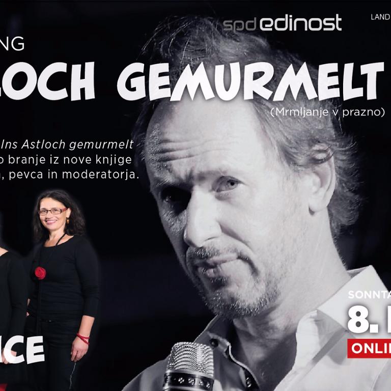 Christian Hölbling: Ins Astloch gemurmelt / Mrmljanje v prazno