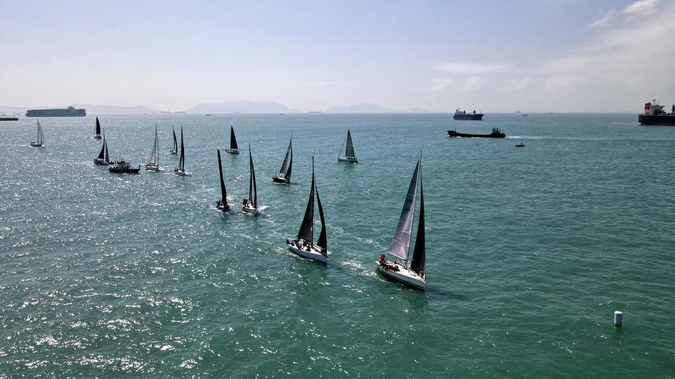 中國海岸帆船賽2021 次日賽事報告