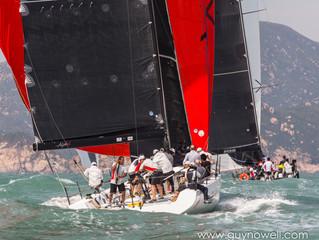 中國海岸帆船賽周周五展開