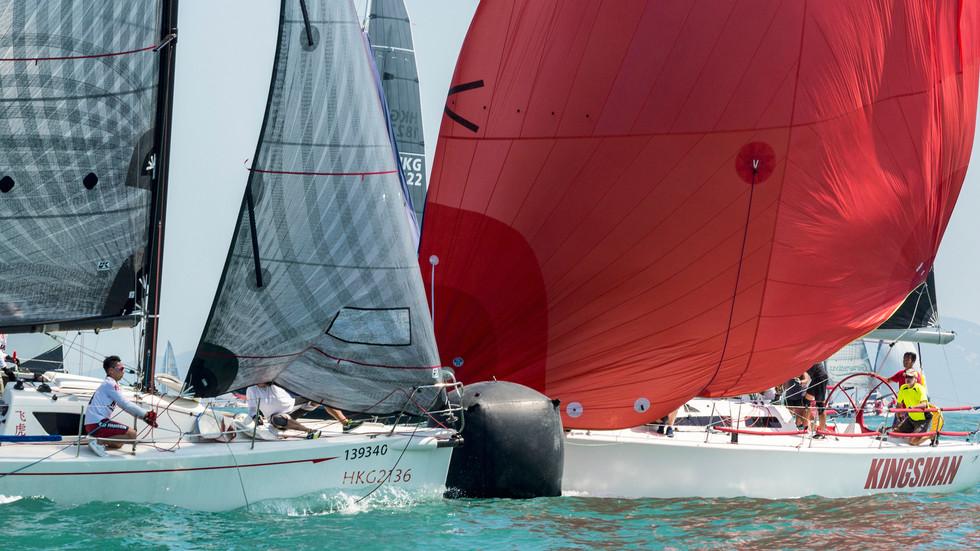 St. James's Place China Coast Regatta 2020 – Day 2 Race Report