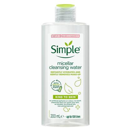 Simple Kind To Skin Micellar Cleansing Water - 200ml