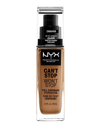 NYX Professional Makeup - Can't Stop Won't Stop 24 Hour Foundation