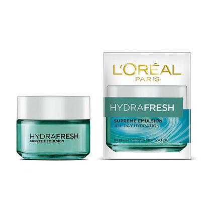 L'Oreal Hydrafresh Supreme Emulsion All Day Hydration (50ml)