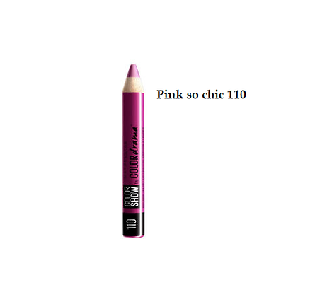 Maybelline Color Drama by Color Show Intense Velvet Lip Crayon - Pink so chic