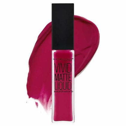 Maybelline Vivid Matte Liquid Lip Gloss-Berry Boost