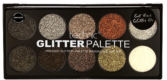 Technic Pressed Glitter Palette -Star Dust