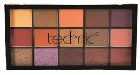 Technic 15 Eyeshadow Palette - bronze&beautiful