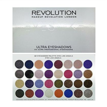Revolution Ultra 32 Shade Eyeshadow Palette - Eyes Like Angels