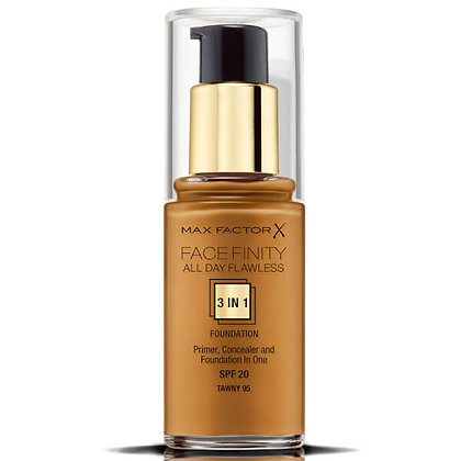 MaxFactor Facefinity 3 in1 Foundation -Tawny