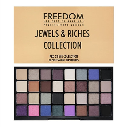Freedom Makeup London Pro 32 - Jewels and Riches Collection